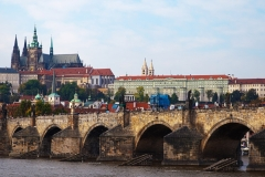 Castle and Bridge in Prague